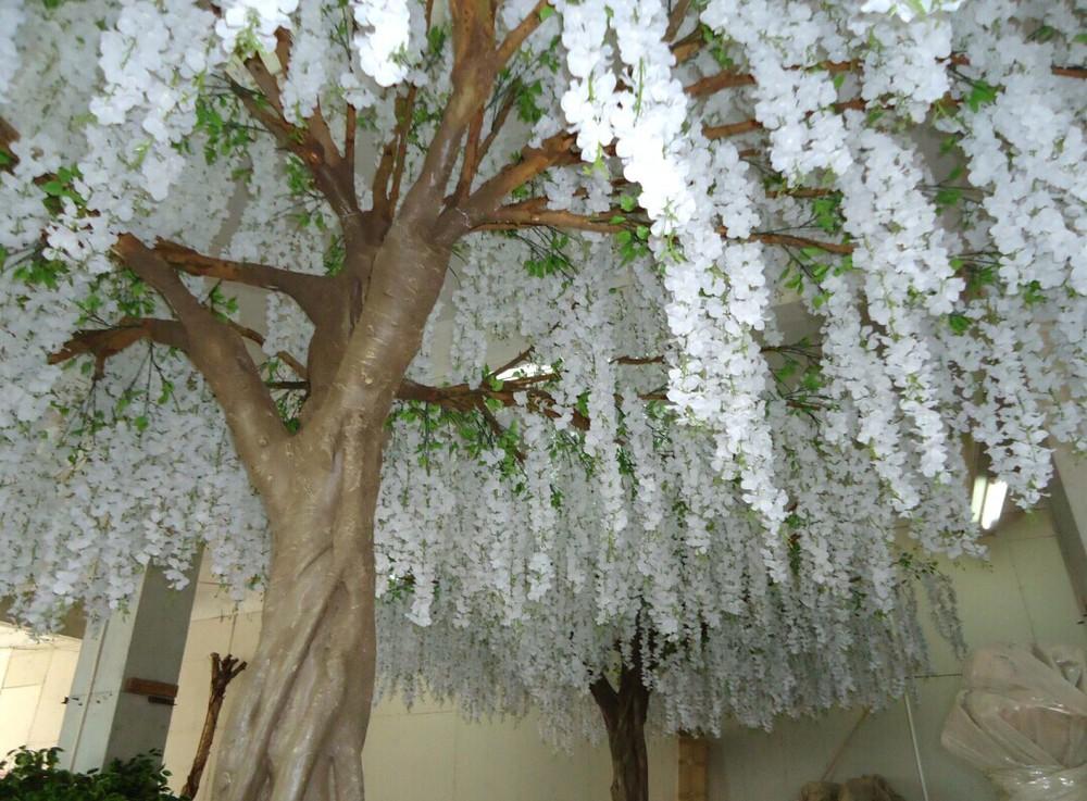 Gnw Bls080 Artificial Wisteria Blossom Trees And Wisteria