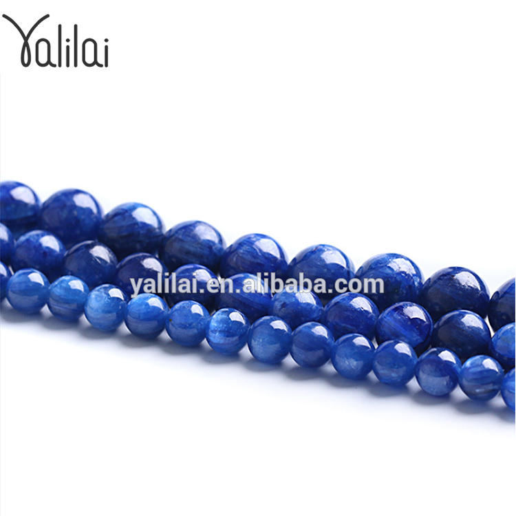 Loose Gemstone of Natural kyanite Stone Bead 8mm