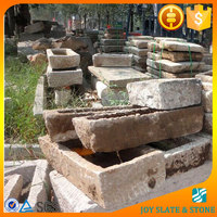 2015 top selling antique stone water trough/rectangle natural stone trough/stone horse trough