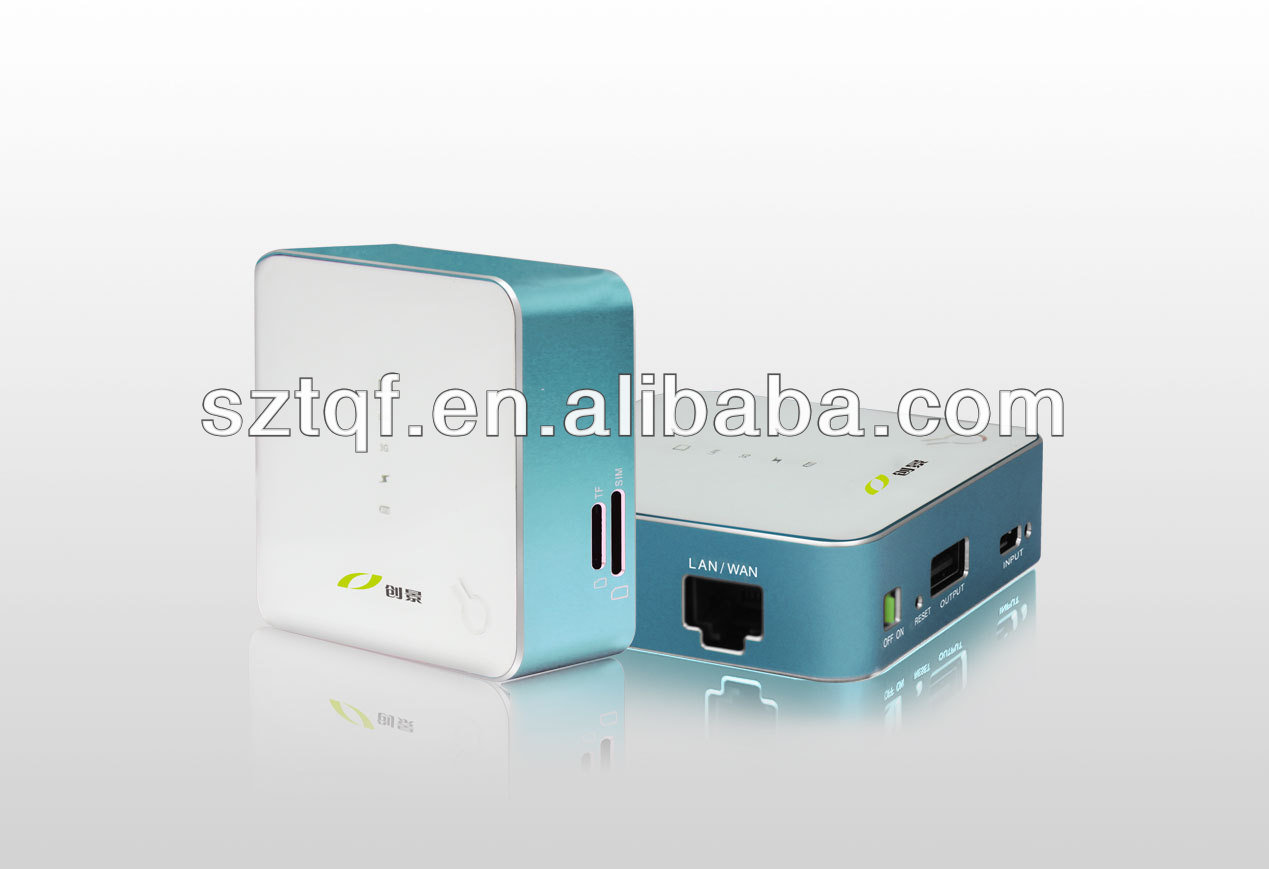 3g wifi router support 3G Wifi + WLAN + SD Card + Power bank