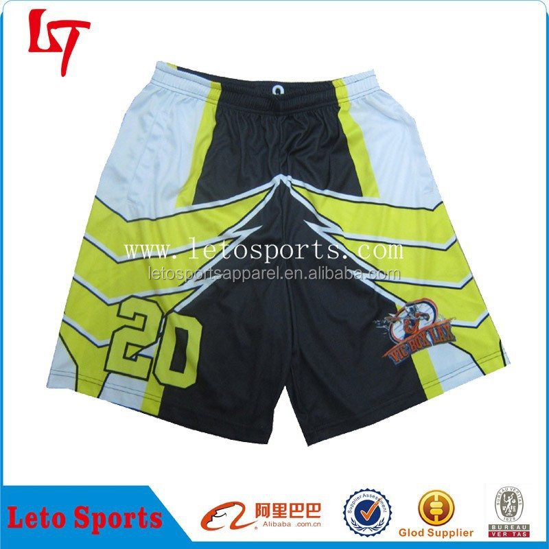 Custom college lax league Practice Shorts, lax reversible shorts,stylish lax shorts&trousers