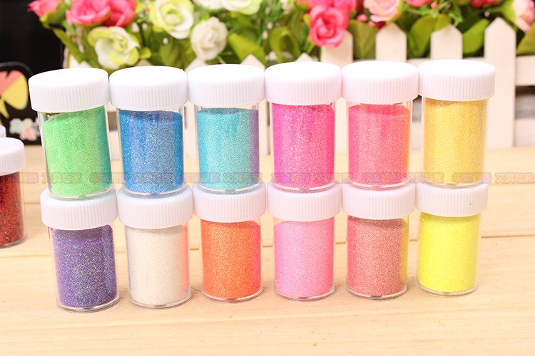 Wholesale Various Rainbow Glitter Powder for Decoration