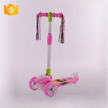 China made 3 wheel kids pedal scooter kick baby
