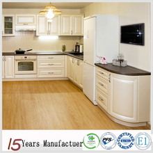 China Made Modern White Oak Wood Custom Kitchen Cabinets Design