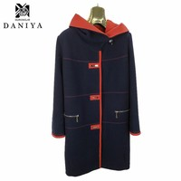 YMYD-8116 Clothing Women Fall Winter Clothes Woman Long Design Wool Coat Female Slim Overcoat Clothing Factories In China