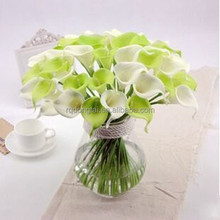 cheap wholesale PU artificial flowers PU Calla lily flower real touch flower