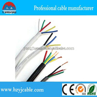 low voltage solid or stranded pvc insulation auto control cable