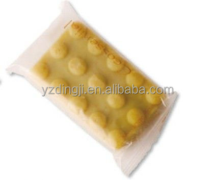 Japanese high quality Green tea Bar Soap for face wash /flexible amenities tubes