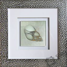 shell decoration crystal frame painting