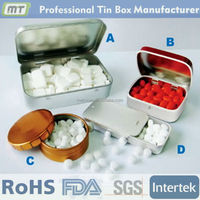 fashional design custom tin box for sweet package