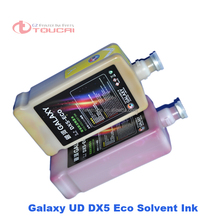 best price galaxy outdoor dx4 eco solvent ink