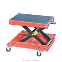 With Four Wheels 500 Kg Motorcycle Scissor Jack