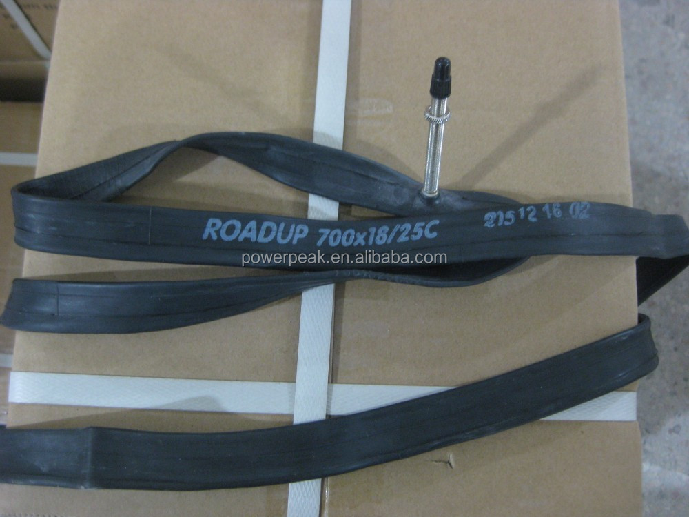Bicycle inner tube 700x18/25C F/V 60mm smooth threaded ROADUP