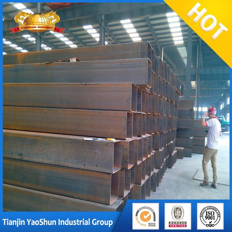 Q345 S355JR SS400 ASTM A36 igh strength steel plate square tube