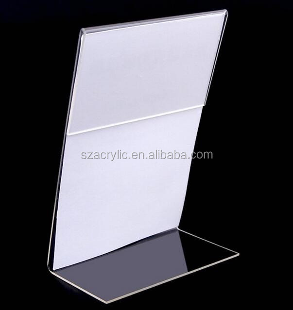 acrylic price label sign display