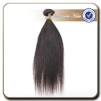 Unprocessed kinky straight yaky hair weave 100% human hair yaki straight long straight hair weave