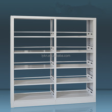 6Layers Library Two-sided Two Column Steel Bookshelf