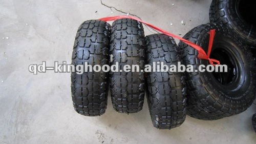 350-4 Pneumatic tyres for wheelbarrow wheel,handtruck wheel