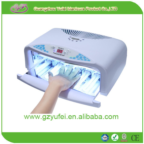 Two hands professional salon nail machine 54w uv lamp for nail art gel
