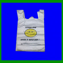 polypropylene t-shirt bags NO.76 t-shirt shopping bag/bolsa de compras