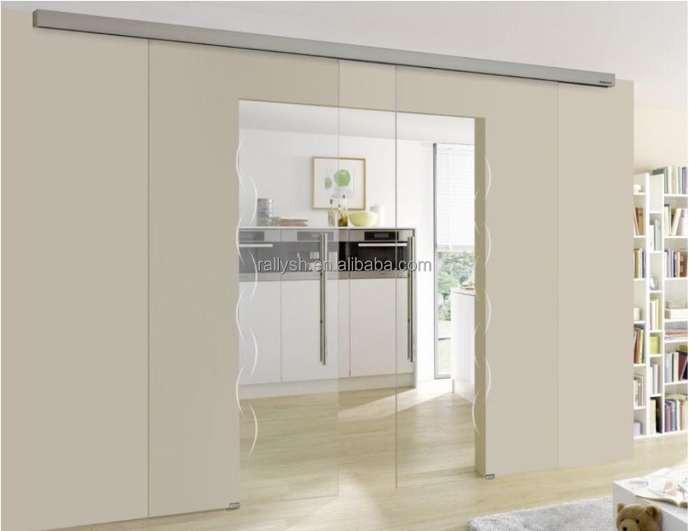 Frameless Glass Modern Design Office Glass Partition