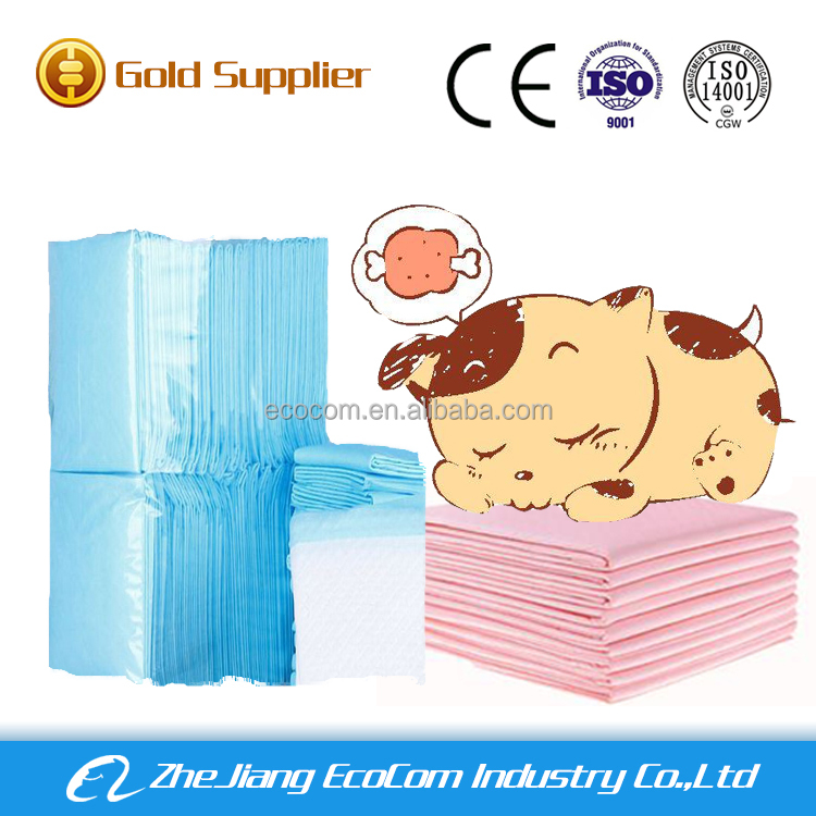 Urine absorbent waterproof disposable pet pads
