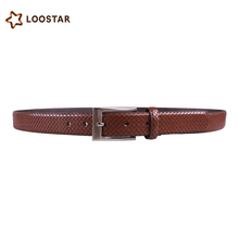 wholesale OEM fashion 2.8cm PU leather replica designer belts for men