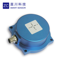High accuracy MEMS IP 67 round shape inclinometer