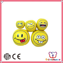 SEDEX Factory customized promotion smile face bounce ball