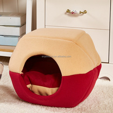 Removable Foldable Mongolian Yurt Shape Pet Dog Cat House S/M/L