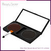 2 Multi Colors Long-lasting Makeup Cosmetic Eyebrow Powder Palette