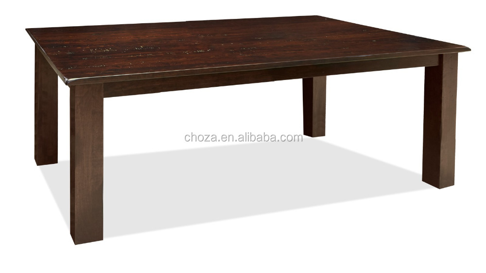 F50734A-1American vintage style oak wood dining room furniture antique wooden coffee table designs