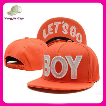 High Quality Wholesale Custom Embroidered Snapback Cap