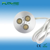 3w dimmable led puck lights 12v home depot