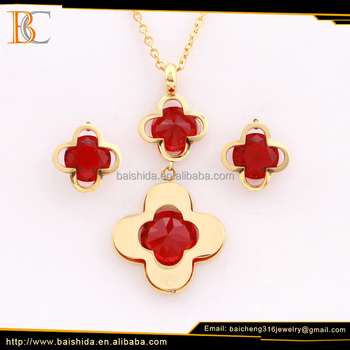 Dongguan stainless steel necklace sets 316l stainless steel jewelry