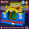 Wholesale popular bouncer spongebob inflatable bounce house for kids