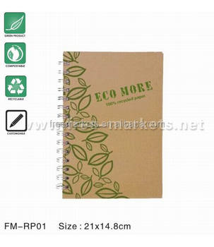 ECO friendly featured recycled paper stationery with EU standard
