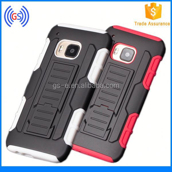 Shockproof Rugged Hybrid Armor Impact Belt Clip PC&silicone Holster Stand mobile phone covers for HUAWEI Y301 / H881