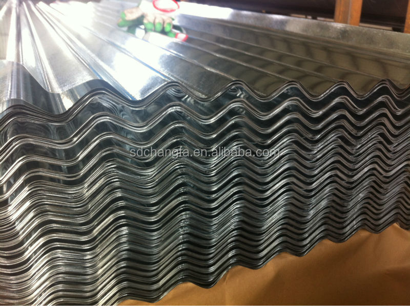 At low price GI steel plate roofing zinc sheet