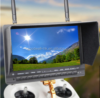 1000 cd/m2 High Brightness 7 Inch Wireless HDMI Monitor built in DVR and Battery