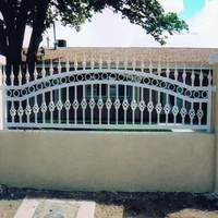 used wrought iron metal fencing lows