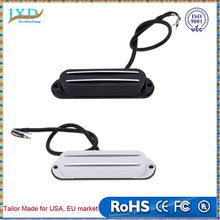 Guitar Dual Pickup Hot Rail Single Coil Humbucker Pickup 4 Wire for Electric Guitar Lightweight and High Quality