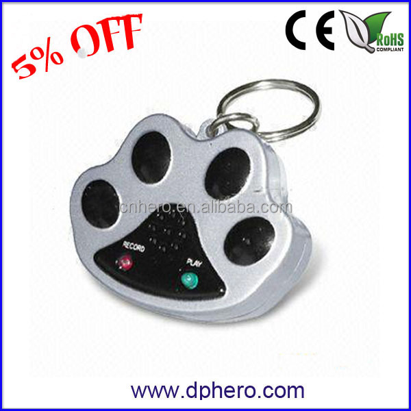 Recordable Music custom rubber keychains for gifts