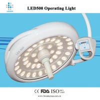Dome mounted LED shadowless operation lamp LED 500 imported LED bulb