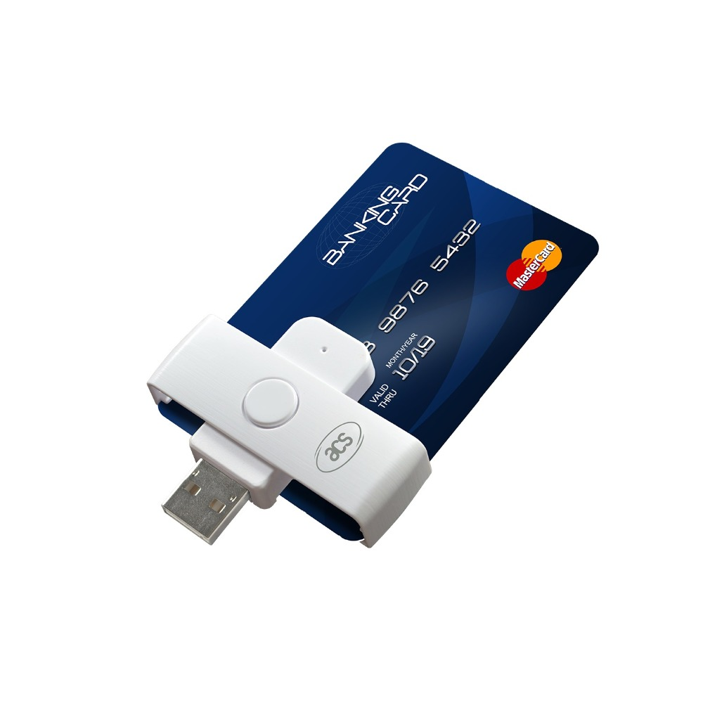 Yongkaida wholesale ACR38U-N1 IC Contact Smart Card Reader Programmable Mini Wirter Portable USB interface reader