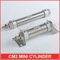 CM2 Series SMC standard Double Acting bore size 20~40mm Mini Pneumatic Cylinder