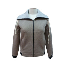vintage jacket women zip-up causal outdoor clothing for autumn