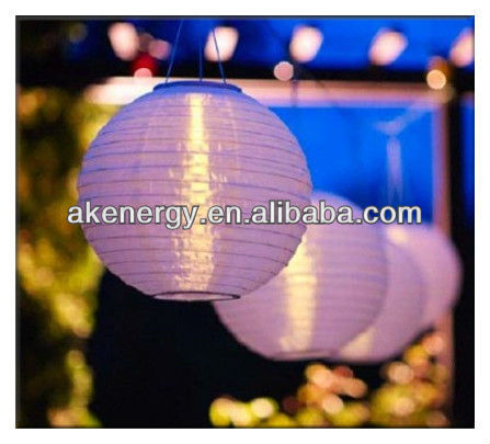 Solar LED hanging lantern festival light outdoor and garden light