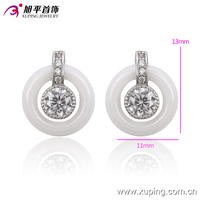 2016 New imitate jewelry in China market round shaped Stud Earrings for young woman