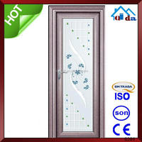 Made in china professional powder coated aluminum security sliding doors to room price